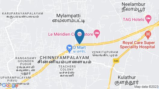 Gokulam Park Coimbatore Map