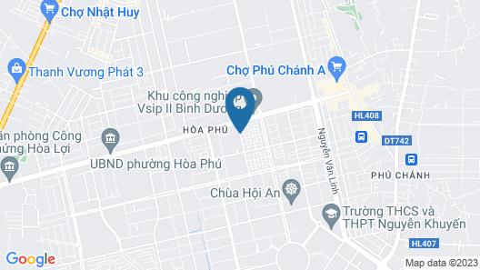 Tran Long Binh Duong Hotel Map