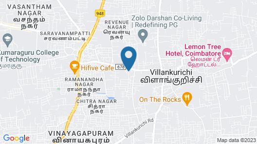 OYO Flagship 24155 FCI Nagar Map