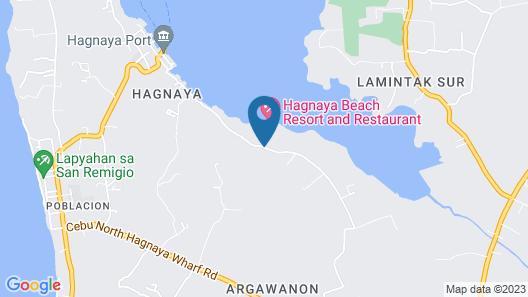 Hagnaya Beach Resort and Restaurant Map