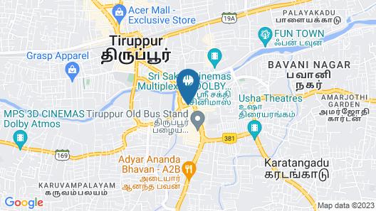 Ginger Tirupur Map