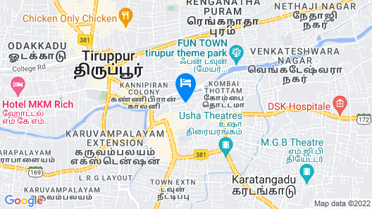 Hotel MPS Residential Tower Map