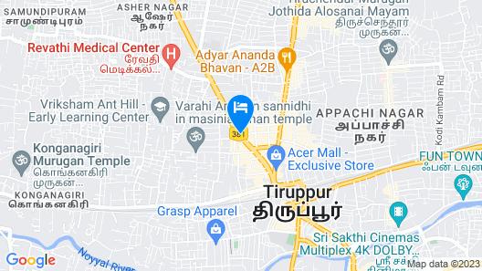 R K Residency Map