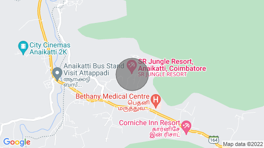 Amazing Place with mountain view stay/Coimbatore Map