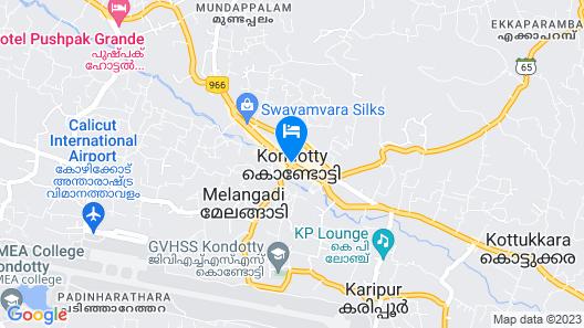 KTDC Tamarind Kondotty Map