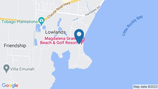 Magdalena Grand Beach & Golf Resort Map