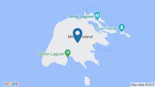 Miniloc Island Resort Map