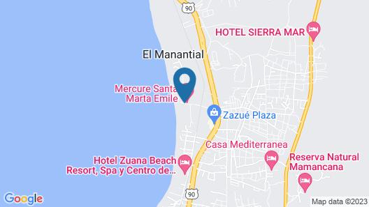 Irotama Torres Map