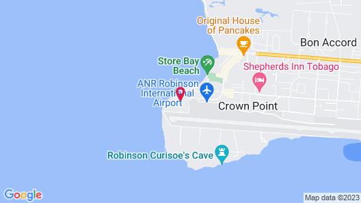 Tropikist Beach Hotel & Resort Map