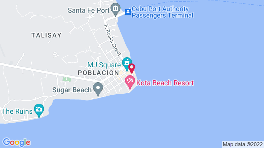 Marlins Beach Resort Map