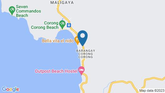 El Nido Coco Resort Map