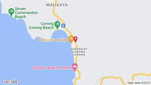 El Nido Overlooking Resort Map