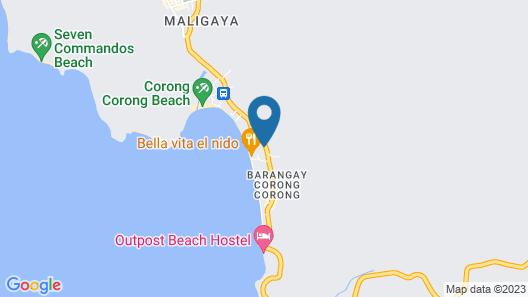 Novie's Tourist Inn Map