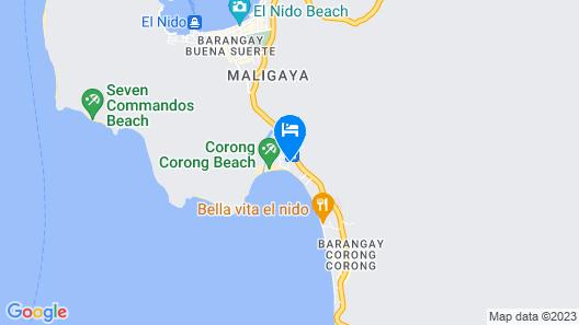 OYO 709 Telesfora Beach Cottage Map
