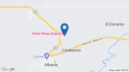 Waya Guajira Map