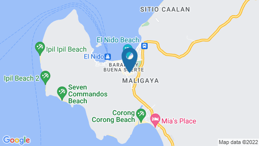 Alexzus Backpacker Travel Lodge Map