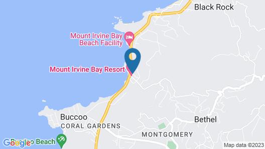Mount Irvine Bay Resort Map