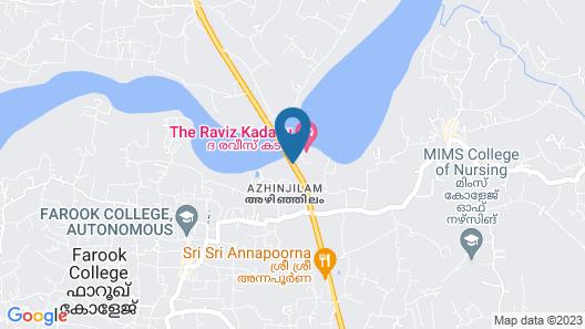 The Raviz Kadavu Map