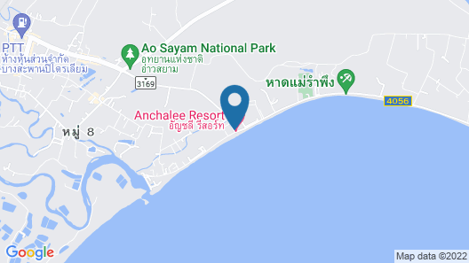 Anchalee Resort Map