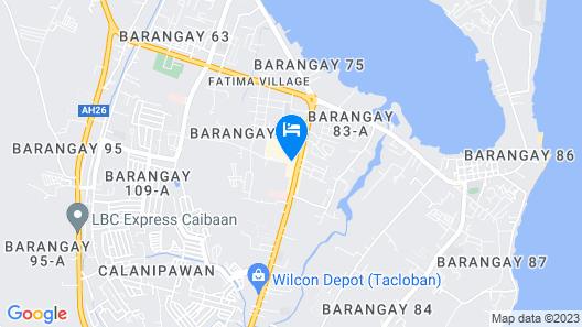 Summit Hotel Tacloban Map