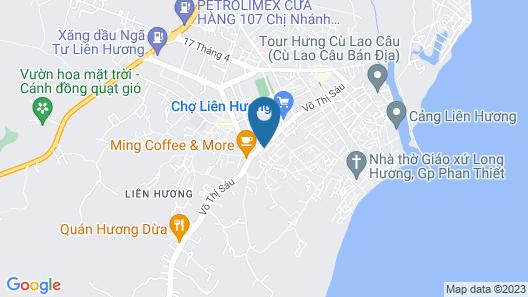 Dao Nguyen Hotel Map