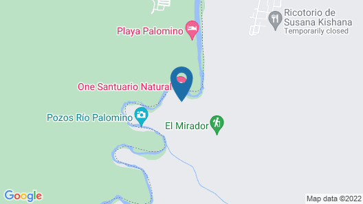 One Santuario Natural Map