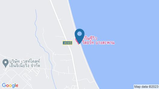 Greenseaviewresort Bangsaphan Map
