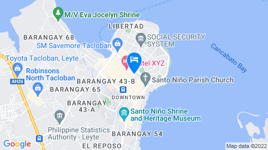 Hacasi Hotel Map