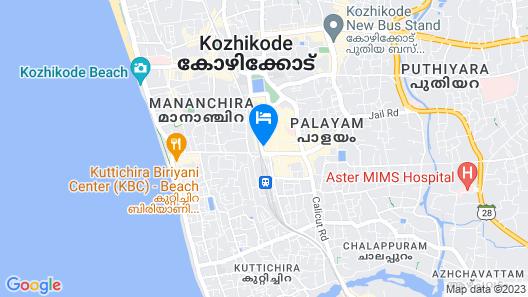 OYO 15190 Select Residency Map