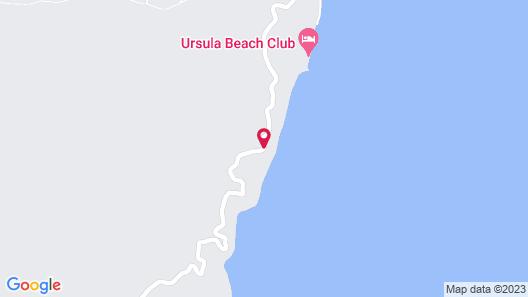 Eda Beach Camp Site El nido Map