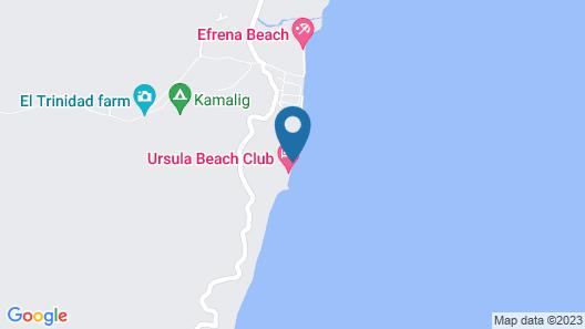 Floresita's Beach Resort Map