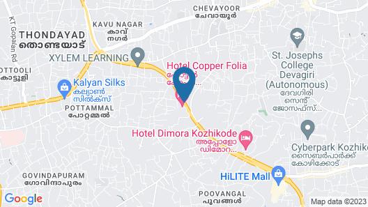 Copper Folia Map