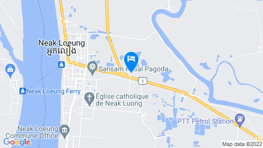Mongkul Thmey Guest House Map