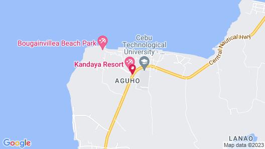 Kandaya Resort Map