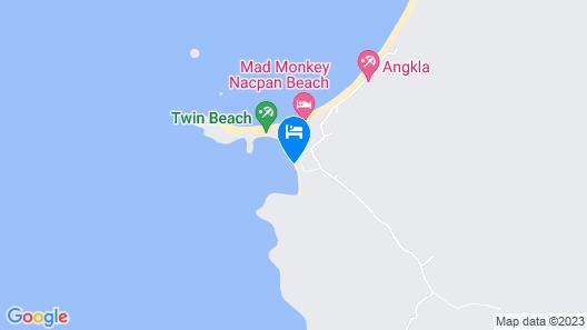 OYO 715 Dandal Bay View Map