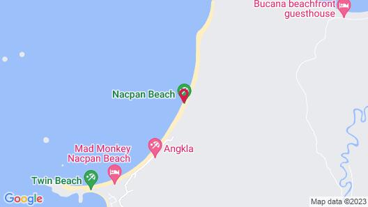 Nacpan Beach Glamping Map
