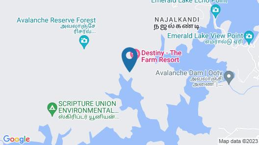 Destiny The Farmstay Map