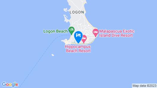 Ocean Vida Beach and Dive Resort Map