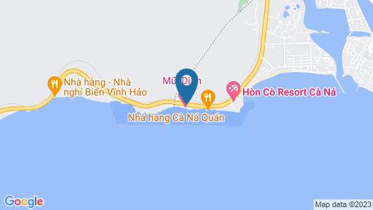 Mui Dinh Hotel Map