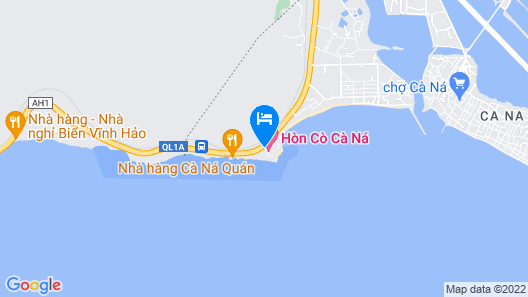 Hon Co Ca Na Resort Map