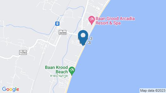 Suan Bankrut Beach Resort Map