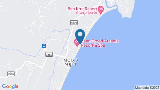 Baan Grood Arcadia Resort & Spa Map