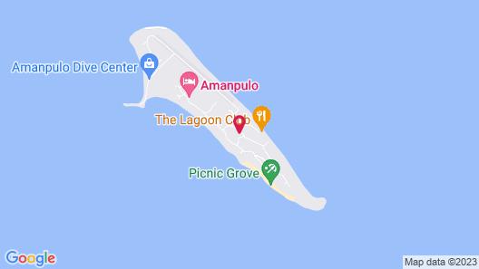 Amanpulo Map