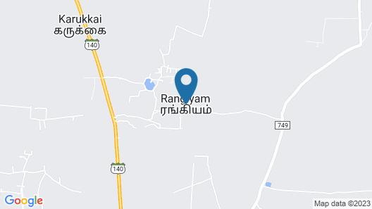 Stunning 1-bed Cottage in Rangiyam Map