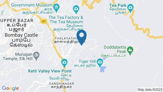 Fortune Retreats Map