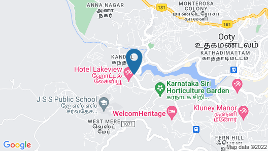 Hotel Lakeview Map