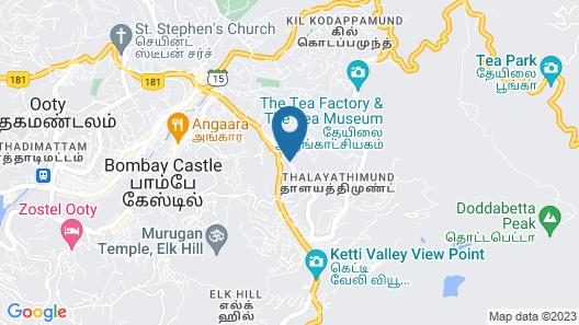 The Byke Sunshine Grand Map