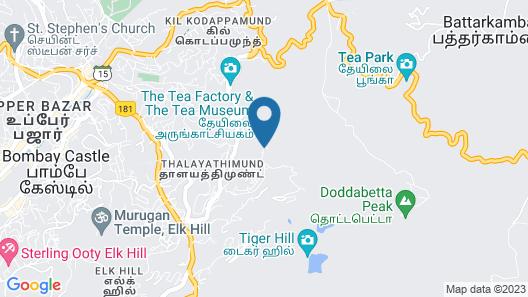 Delightz Inn Resorts Map