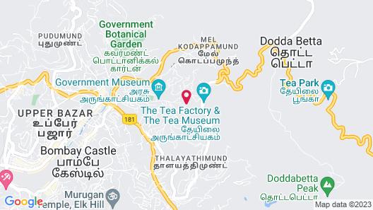 Berry Hills Resort Map