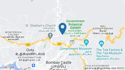 Gem Park Ooty Map